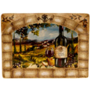 "Certified International Tuscan View Rectangular 16x12"" Platter"