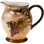Certified International Tuscan View Pitcher
