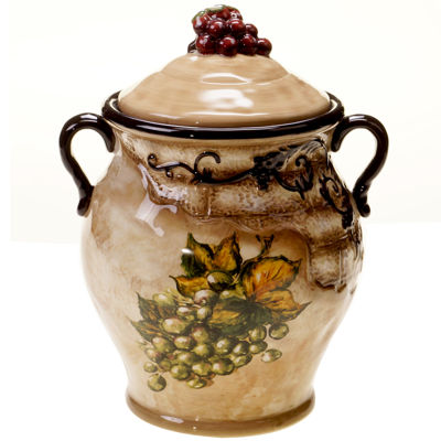 Certified International Tuscan View Biscotti Jar