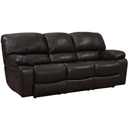 Kerrison Motion Faux-Leather Reclining Sofa