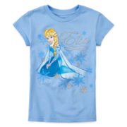 Disney Collection Frozen Elsa Graphic Tee - Girls 2-10