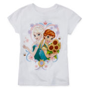 Disney Collection Frozen Fever Graphic Tee – Girls 2-10