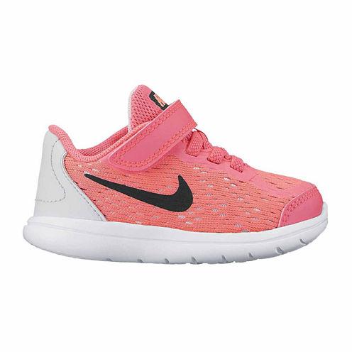 Nike Flex 2017 Run Girls Running Shoes - Toddler