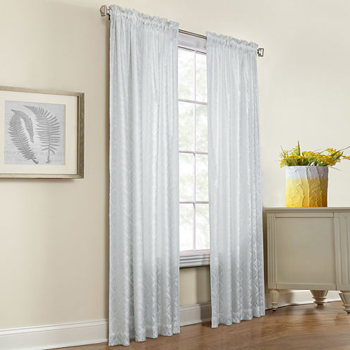 Thermalace Ann Rod-Pocket Curtain Panel
