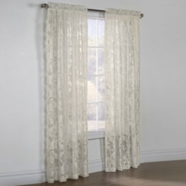 jcpenney.com | Jacqueline Boucle Sheer Rod-Pocket Curtain Panel