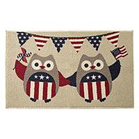 JCPenney Home™ Indepedence Owl Rectangular Rug - JCPenney Home™ Indepedence  Owl Rectangular Rug