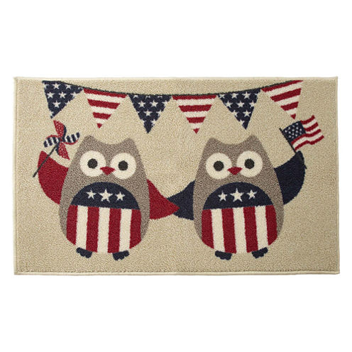 JCPenney Home™ Indepedence Owl Rectangular Rug