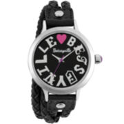 Betseyville® Goes 40 Coachella Braided Double-Wrap Watch