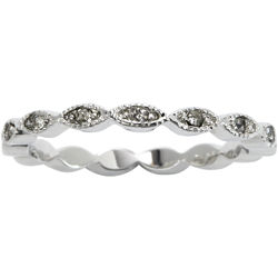 city x city® Marquis Crystal Eternity Band