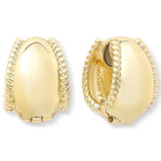 Monet® Gold-Tone Rope Magnetic Clip Earrings