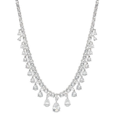 jcpenney.com | CZ by Kenneth Jay Lane Cubic Zirconia Vintage Drama Necklace