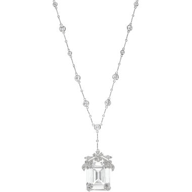 jcpenney.com | CZ by Kenneth Jay Lane Cubic Zirconia Solitaire Statement Pendant Necklace