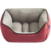 Halo Rectangular Cuddler Reversible Pet Bed