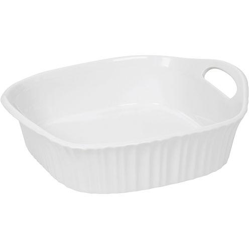 """CorningWare® French White III 8"""" Square Baking Dish"""