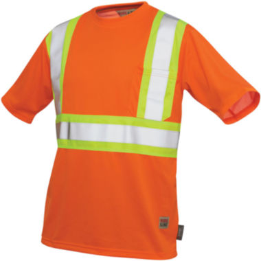 jcpenney.com | Work King High-Visibility Traffic T-Shirt