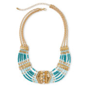 Decree® Bead Bib Necklace