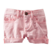 OshKosh B'gosh® Pink Twill Shorts - Girls 5-7