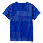 Okie Dokie® Short-Sleeve Striped Tee - Boys 12m-6y