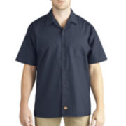 Dickies® Short-Sleeve Poplin Work Shirt