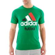 adidas® Futbol Logo Tee