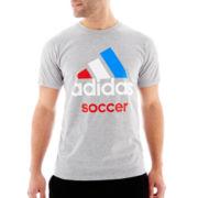 adidas® Soccer Logo Tee