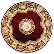 Momeni® Atlantis Hand-Carved Wool Round Rug