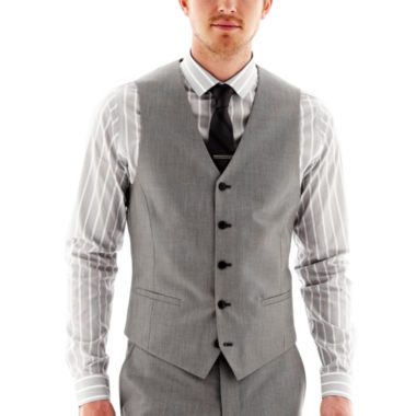 jcpenney.com | JF J. Ferrar® End on End Suit Vest - Slim Fit