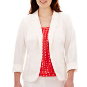 Worthington® Essential Open-Front Blazer - Plus