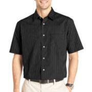 Van Heusen® Short-Sleeve No-Iron Woven Shirt