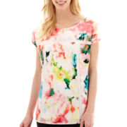 Worthington® Short-Sleeve Boxy Top