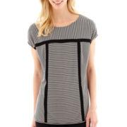 Worthington® Short-Sleeve Boxy Top