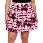 Decree® Scuba Skater Skirt - Juniors Plus