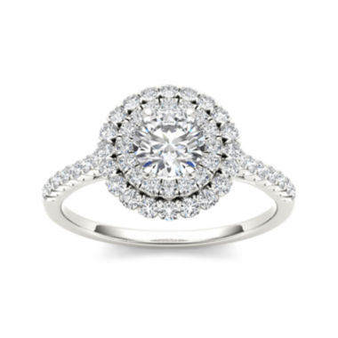 jcpenney.com | 1 CT. T.W. Diamond 14K White Gold Engagement Ring