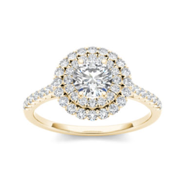 jcpenney.com | 1 CT. T.W. Diamond 14K Yellow Gold Engagement Ring
