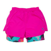Puma® Bubble Print Running Shorts - Preschool Girls 4-6x