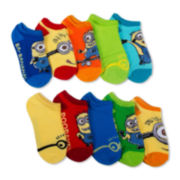 Licensed Despicable Me 10-Pk. No-Show Socks - Boys
