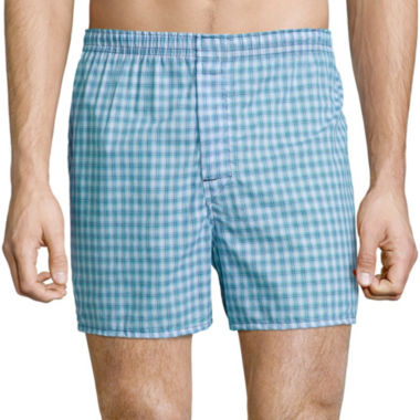 jcpenney.com | Hanes® 4-pk. Woven Boxers