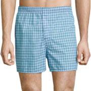 Hanes® 4-Pk. Woven Boxers
