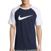 Nike® Raglan Swoosh Tee