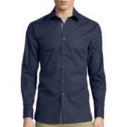 International Report Long-Sleeve Woven Button-Front Shirt