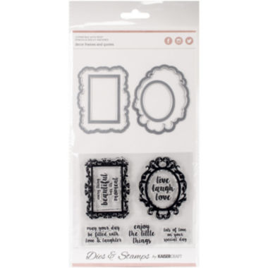 jcpenney.com | Frames/Quotes Dies and Stamps Kit