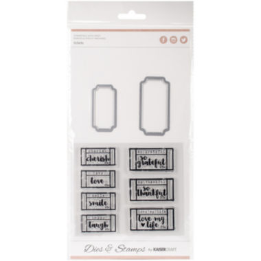 jcpenney.com | Tickets Die and Stamp Kit