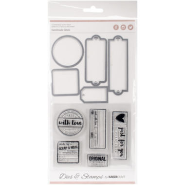 jcpenney.com | Kaisercraft Label & Die Stamp Kit
