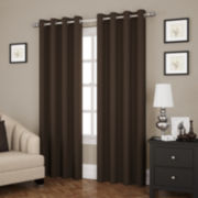 Eclipse Ridley Room-Darkening Grommet-Top Curtain Panel