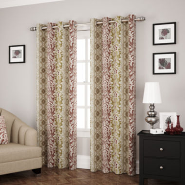 jcpenney.com | Eclipse® Shayla Room-Darkening Grommet-Top Curtain Panel