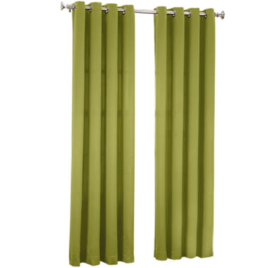 jcpenney.com | Sun Zero Garrett Room-Darkening Grommet-Top Curtain Panel