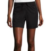 Made for Life™ Melange Mesh Shorts - Tall