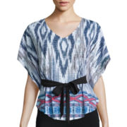 Alyx® Sublimated Short-Sleeve Print Pull-Thru Top