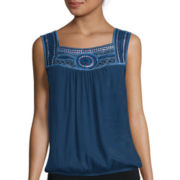 Alyx® Sleeveless American Print Woven Top