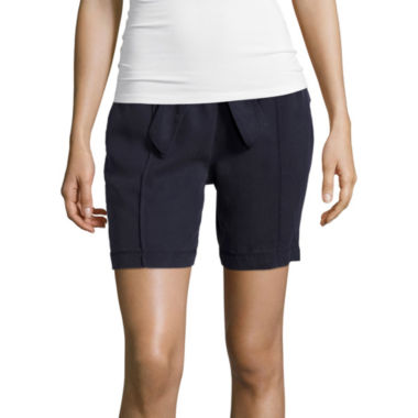jcpenney.com | Liz Claiborne® Pull-On Shorts